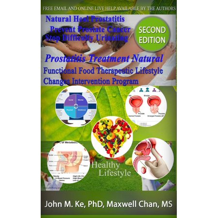 Prostatitis Treatment Natural, Functional Food Therapeutic Lifestyle Change Intervention Program - eBook
