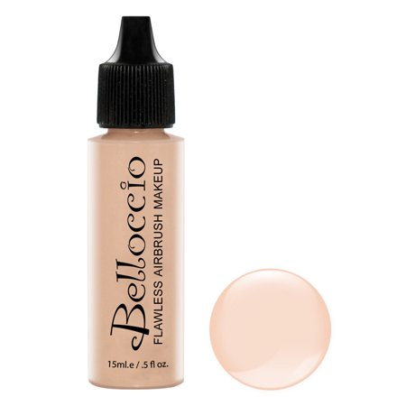 Belloccio Pro Airbrush Makeup ALABASTER SHADE FOUNDATION Flawless Face Cosmetics - Halloween Airbrush Makeup