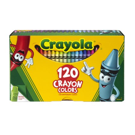 Crayola Giant Box of Crayons, 120 Count