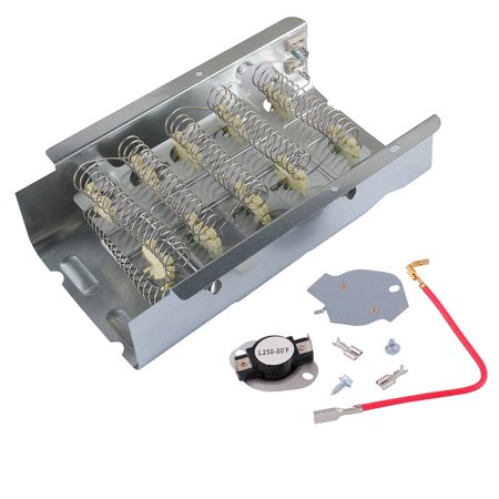 279838 and 279816 Heating Element and Thermostat for Whirlpool Dryer ()