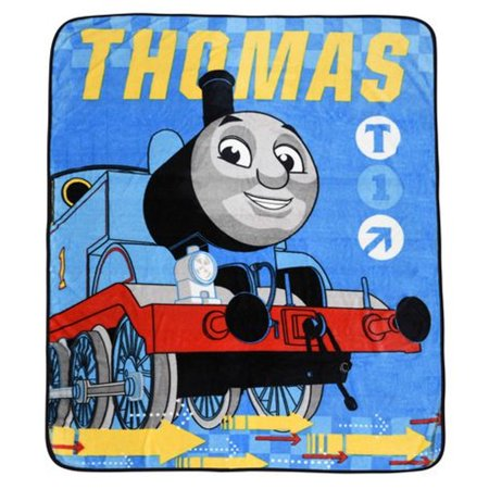Thomas and Friends Twin Size Super Plush Kids Throw