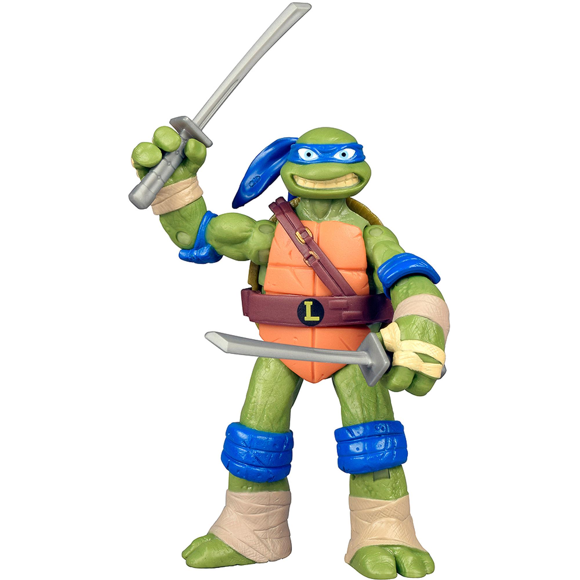 Walmart Credit Card Review >> Nickelodeon Teenage Mutant Ninja Turtles Re-Deco Action Figure, Leonardo - Walmart.com