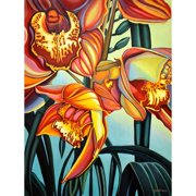 TAF DECOR Pollination by Anne Gudrun Painting Print on Canvas