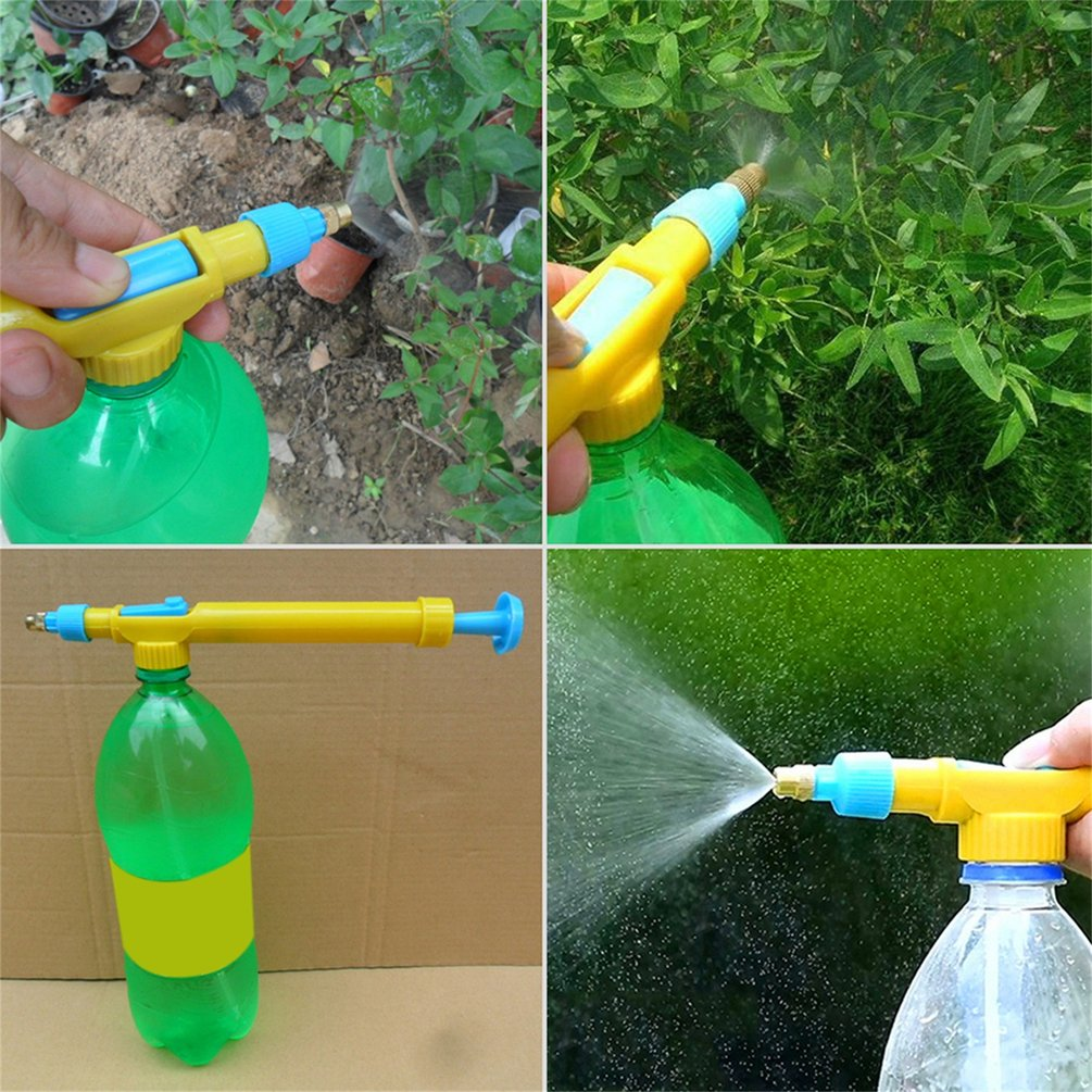 Mini Juice Bottles Interface Trolley Gun Sprayer Head Water Pressure Plastic Water... by