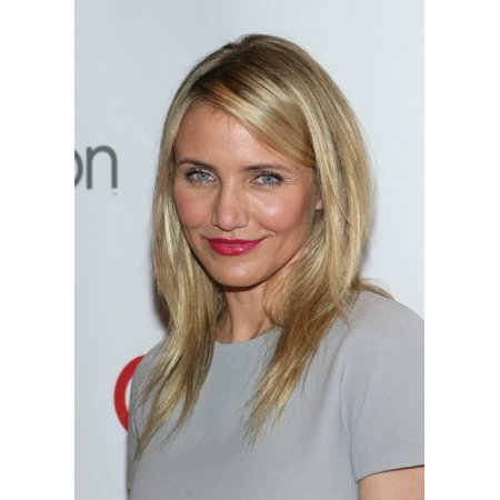 Cameron Diaz At Arrivals For 20Th Century Fox Presentation At Cinemacon 2014 The Colosseum Of Caesars Palace Las Vegas Nv March 27 2014 Photo By James Atoaeverett Collection Photo Print