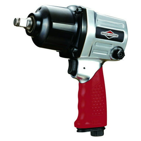 Briggs & Stratton BSTIW002 1/2 in. Square Drive Pneumatic Heavy-Duty Impact Wrench (Pneumatic Wrench)