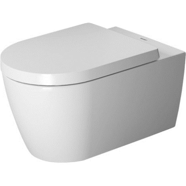 Duravit 2529090092 Me By Starck Dual Flush One Piece Wall Mounted Rimless Elongated Toilet