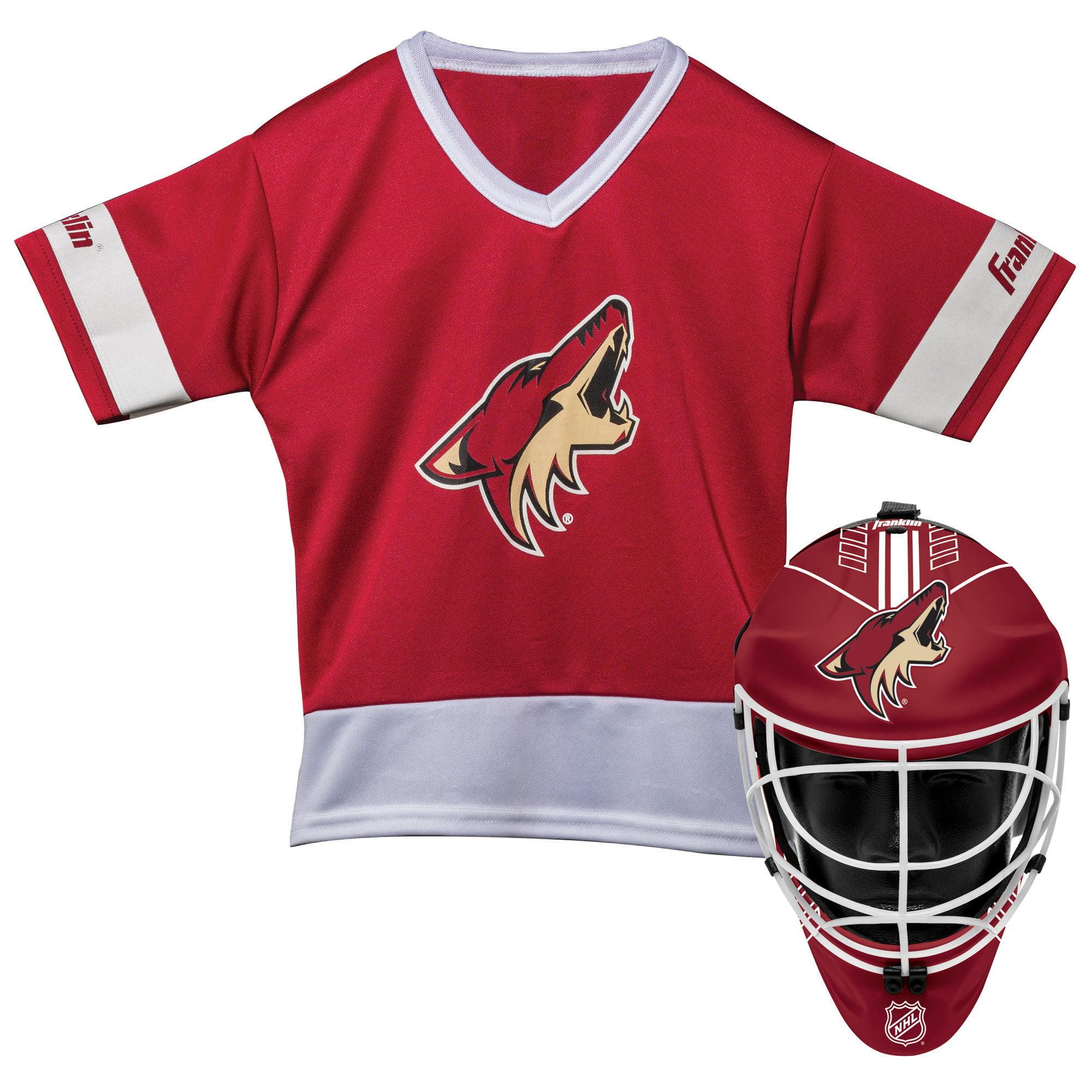 Franklin Sports NHL Arizona Coyotes Youth Team Uniform Set