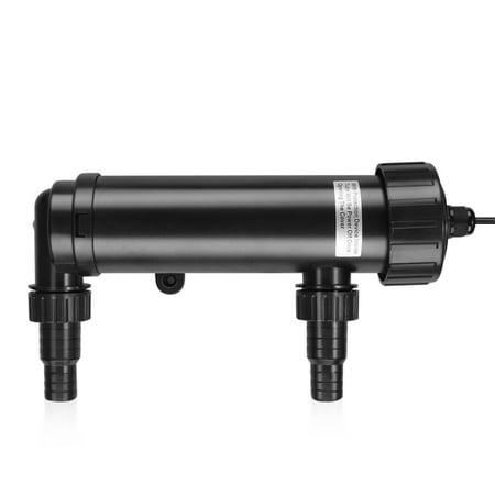 9 Watt UV Sterilizer Light 110V Water Clarifier Lamp Ultraviolet Filter with Bulb Tube for Aquarium Pond Tank Gold Fish Reef (Aquarium Koi)