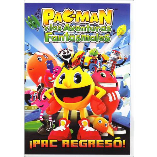 Pac-Man Y Las Aventuras Fantasmales - Pac Regreso! (Walmart Exclusive) (Widescreen, WALMART EXCLUSIVE)