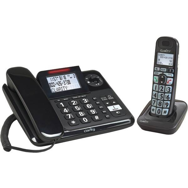 Amplified Corded-Cordless Phone System-Digital Answering System by Petra Industries