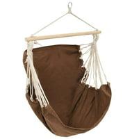 Yosoo Swing Chair/Hammock Brown Large Fabric