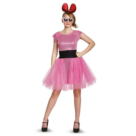 Powerpuff Girls Blossom Deluxe Adult Costume for $<!---->
