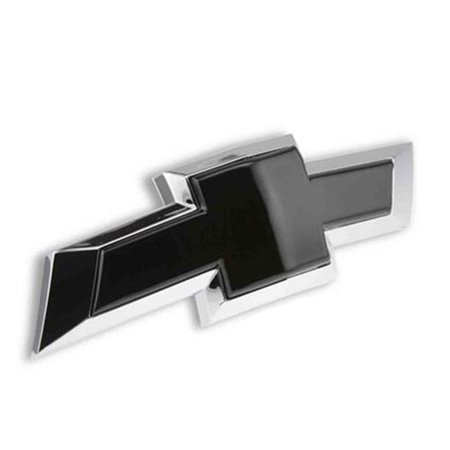 Black Chevy Bowtie Rear Emblem Insert 2014-2017 Camaro Coupe/Convertible/Z28/ZL1