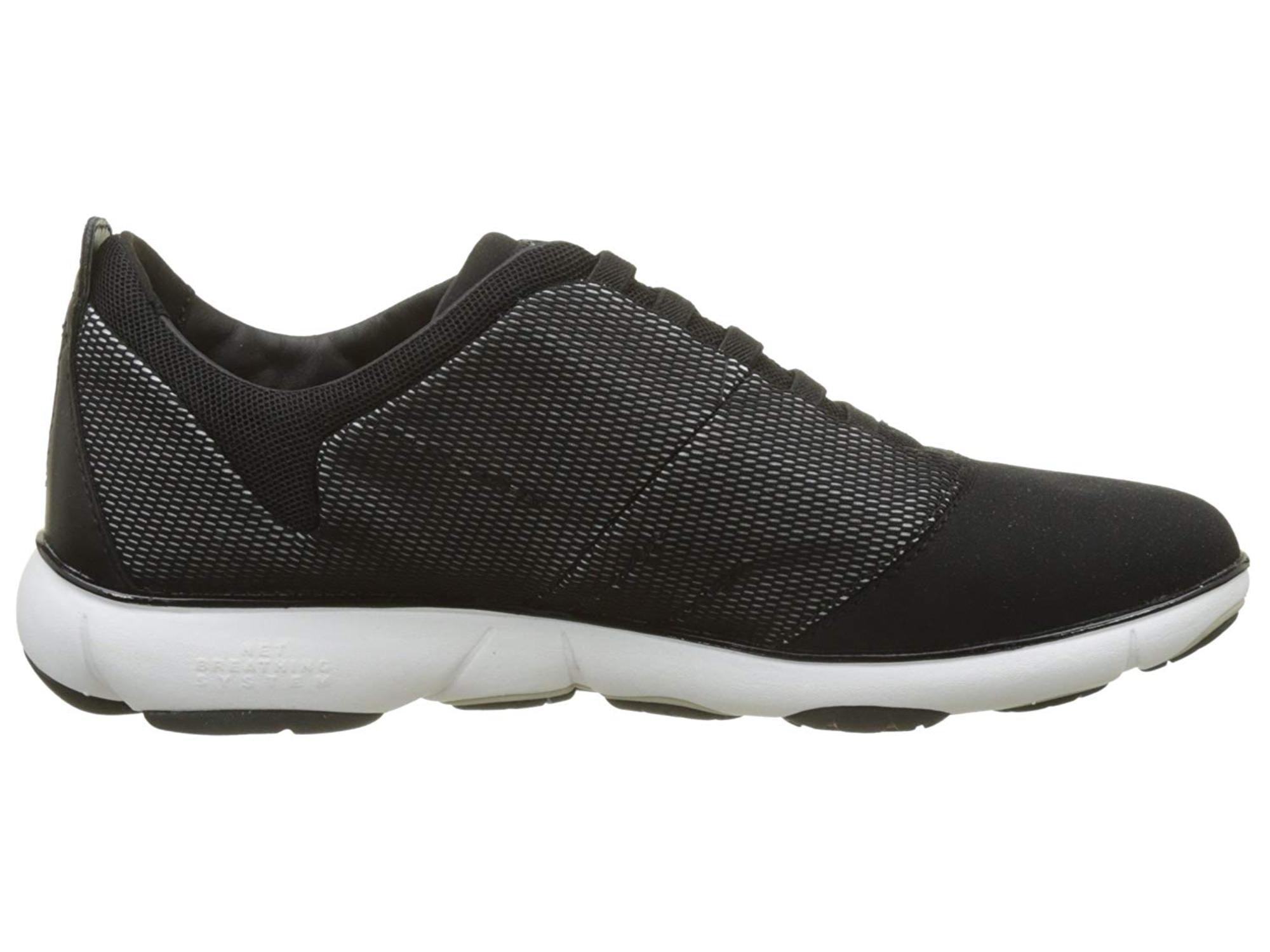 Geox Womens Nebula 16 Sneaker Low Top Bungee Fashion Sneakers