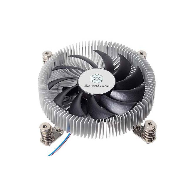 SilverStone Nitrogon NT07-115X 80mm Low Profile CPU Cooler for Intel 1156/1155/1