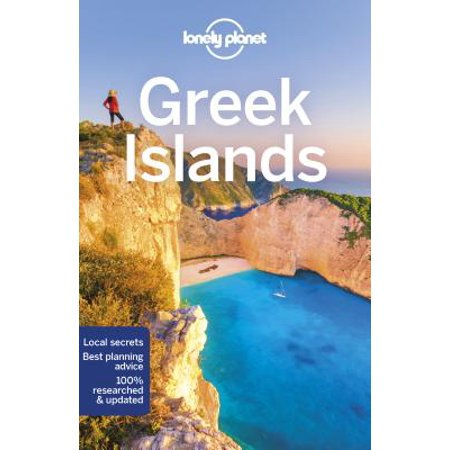 Travel guide: lonely planet greek islands - paperback: