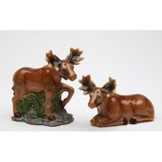 Cosmos Gifts Moose Salt and Pepper Set