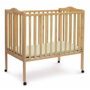 Delta Children Folding Portable Crib with Mattress