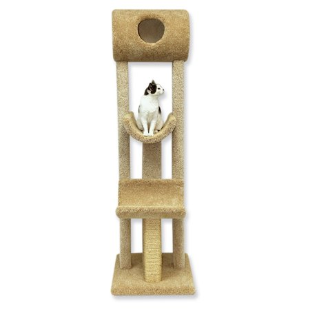 Beatrise Tall Kitty Playground Cat Tree (Kitty Playground)