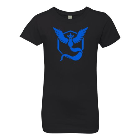Pokemon Go Gym Team Mystic Blue Youth Girls Princess Tee T-Shirt Top Duke Blue Devils Gym Bag