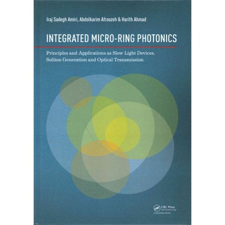 Integrated Micro Ring Photonics  Principles And Applications As Slow Light Devices  Soliton Generation And Optical Transmission