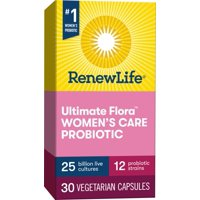 Renew Life Women's Probiotic, #1 Women's Probiotic, 25 Billion, 30 Ct
