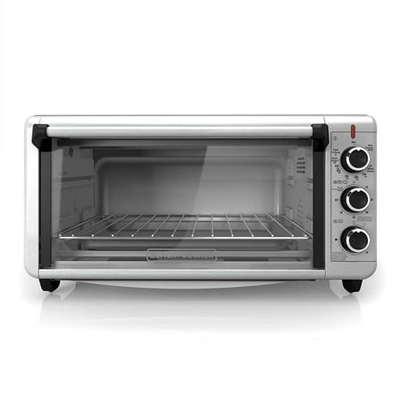 BLACK+DECKER Extra-Wide Toaster Oven TO3240XSBD