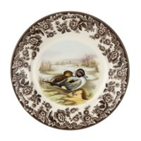 spode woodland & delamere salad plate (pintail)