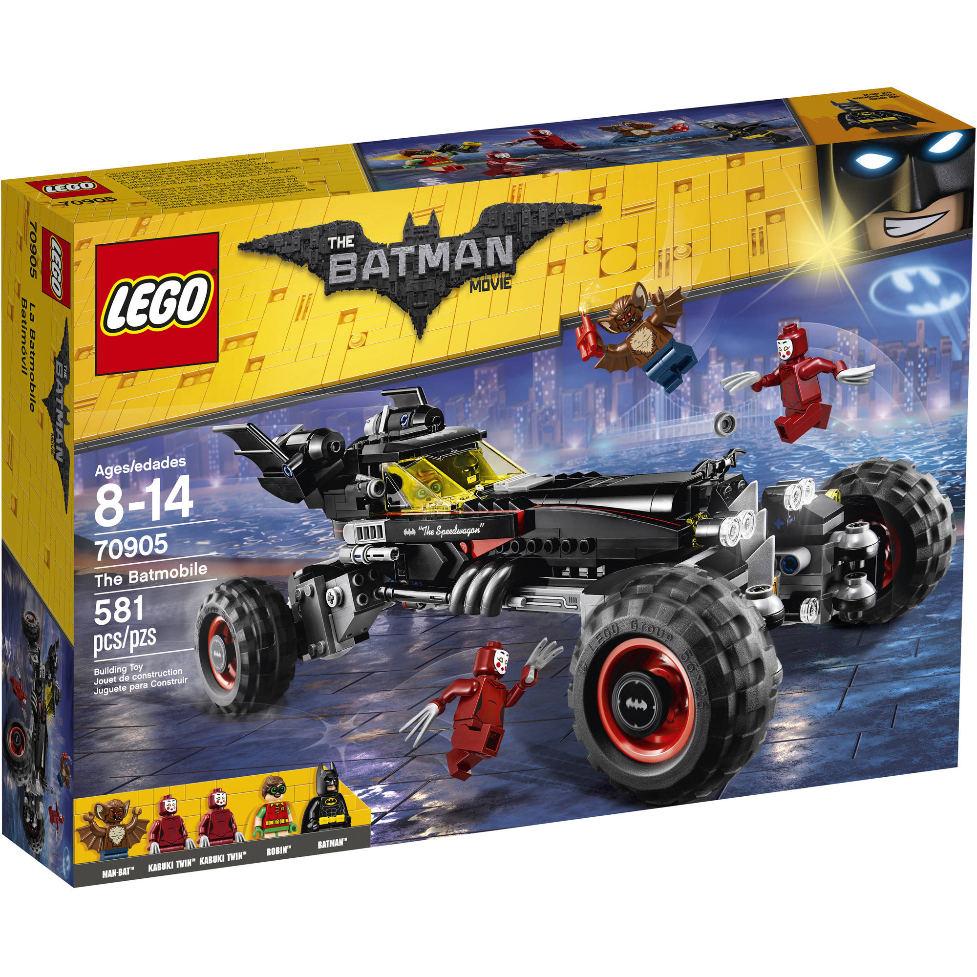 Lastest The LEGO Batman Movie  The Batmobile 70905  Walmartcom