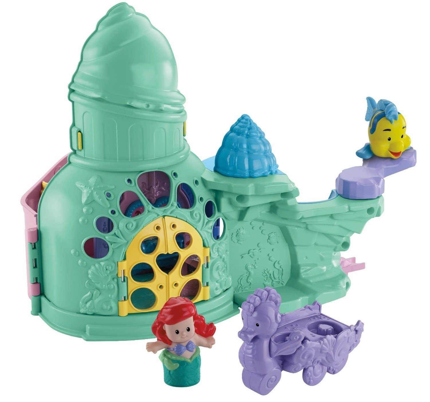 Fisher-Price Little People Disney Princess Ariel and Flounder Playset