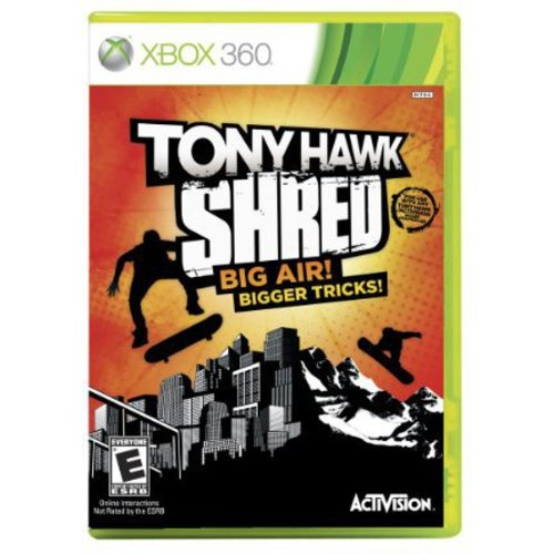 TONY HAWK:SHRED (SW ONLY)(BOARD REQUIRED TO PLAY) X360 SIMULATION
