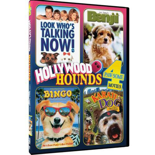 Hollywood Hounds: 4 Paw-some Movies: Bingo   Look Who's Talking Now!   Benji   Karate Dog by Mill Creek Entertainment