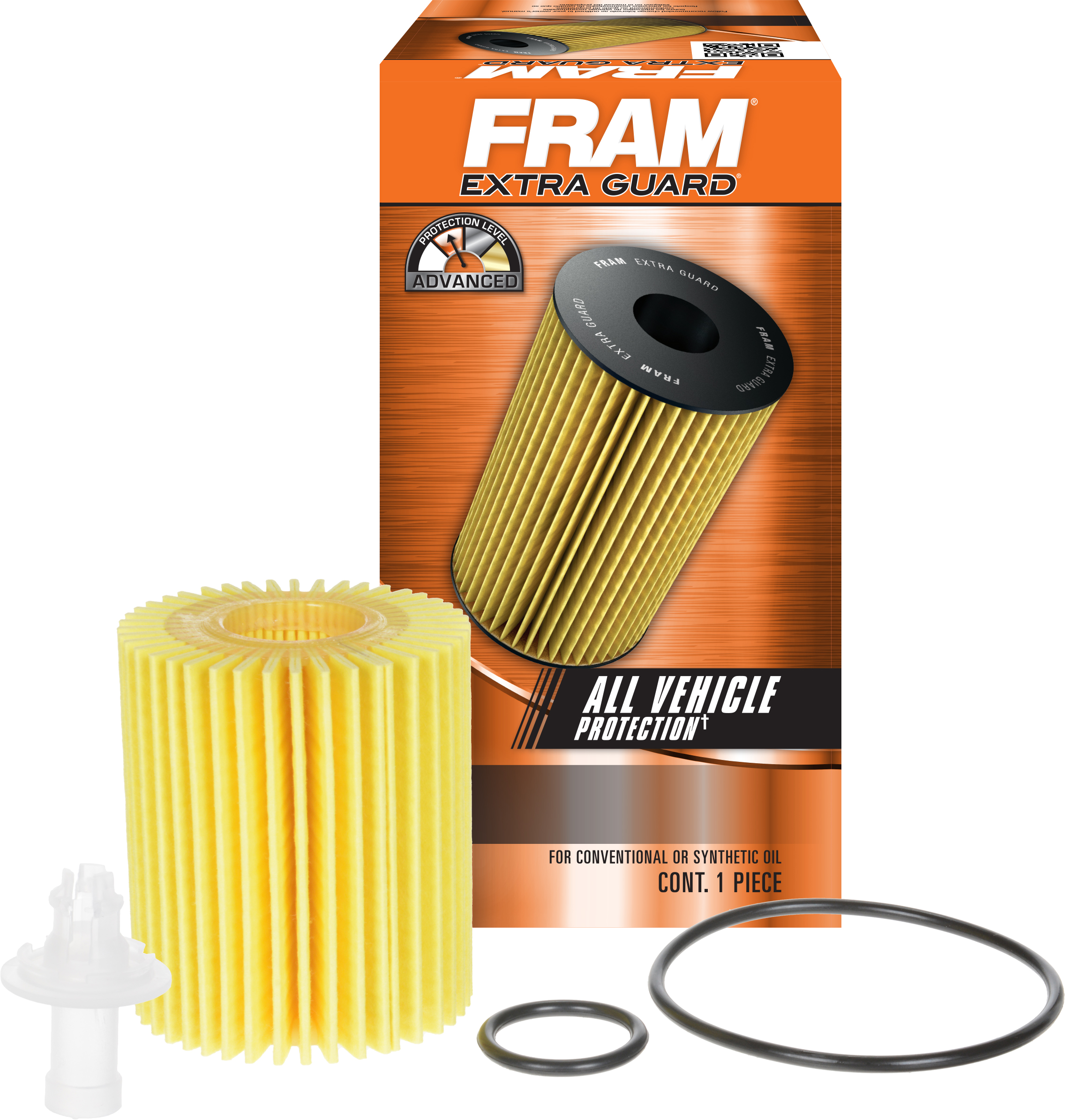FRAM Extra Guard Oil Filter, CH10158