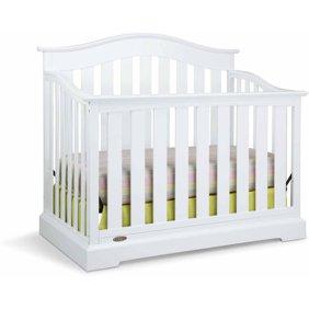 Graco Suri 4 in 1 Convertible Crib White - Walmart.com