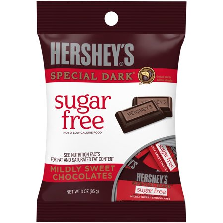 Hershey's Sugar-Free Special Dark Mildly Sweet Chocolates, 3 Oz.