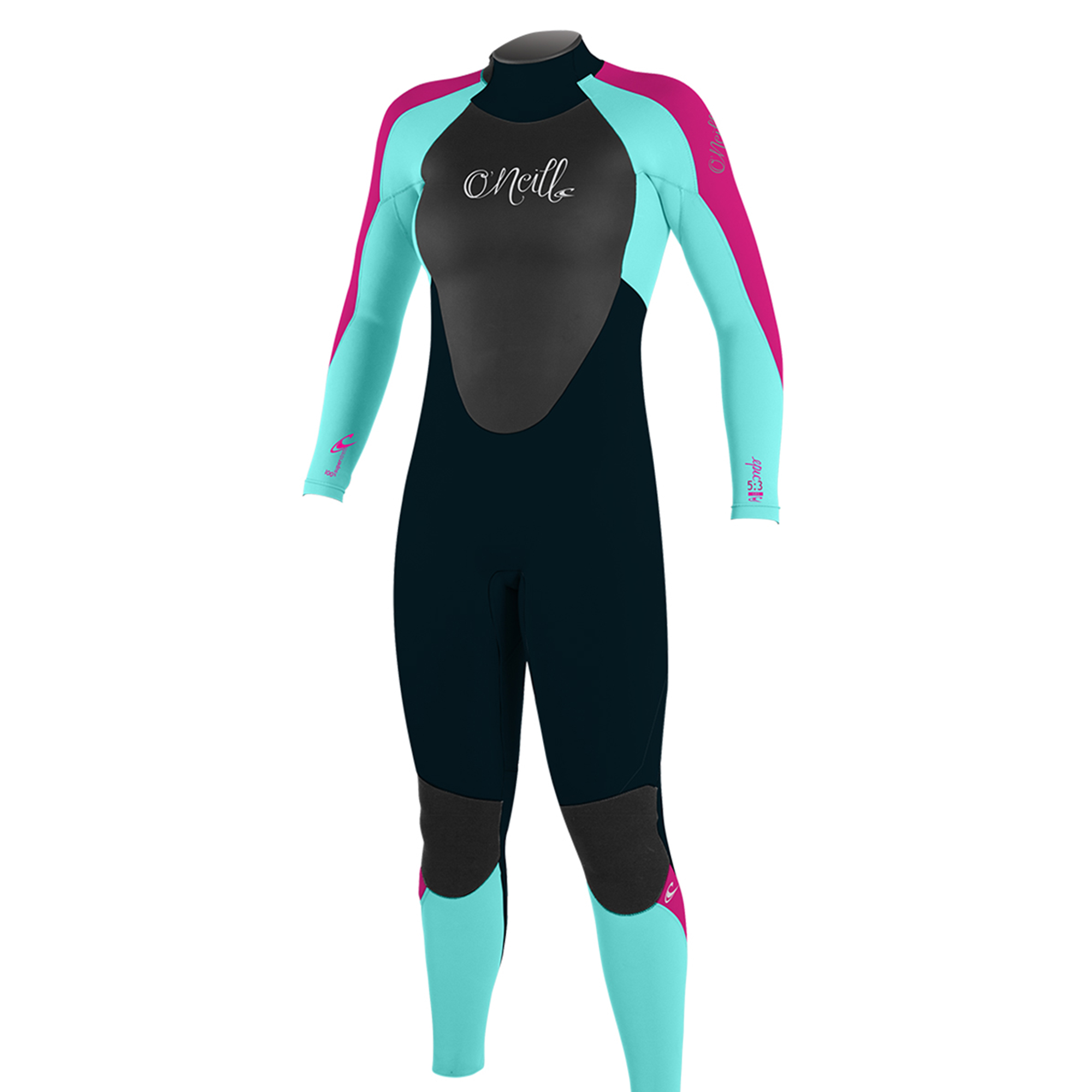 O'NEILL GIRL'S EPIC 3/2MM BACK ZIP FULL WETSUIT (Multiple Sizes and Colors)