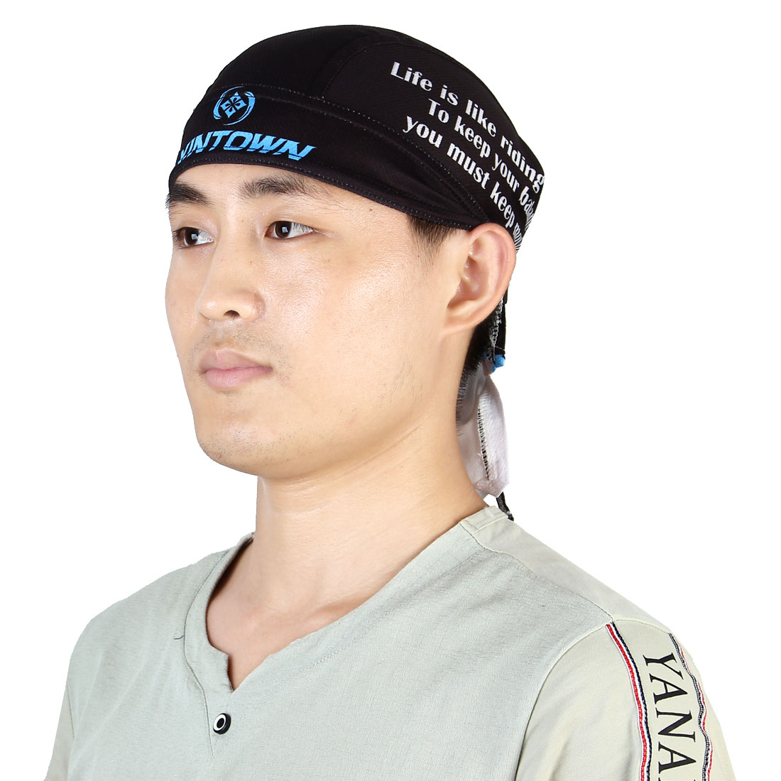 XINTOWN Authorized Adult Unisex Outdoor Running Headband Cap Cycling Biking Sports Pirate Hat