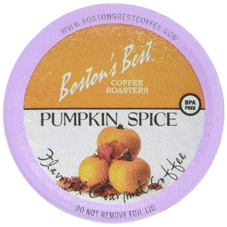 Boston's Best Single Serve K-Cup Coffee, Pumpkin Spice,12.6 oz, 42 (Best Pumpkin Spice Syrup)