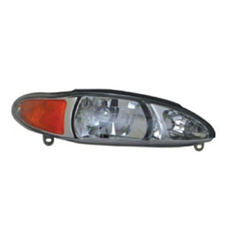 2002 02 Ford Escort Wagon - Go-Parts » 1997 - 2002 Ford Escort Front Headlight Headlamp Assembly Front Housing / Lens / Cover - Right (Passenger) Side - (4 Door; Sedan + 4 Door; Wagon) XS4Z 13008 AA FO2503137 Replacement For)