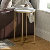 Daisy Round End Table, Multiple Finishes