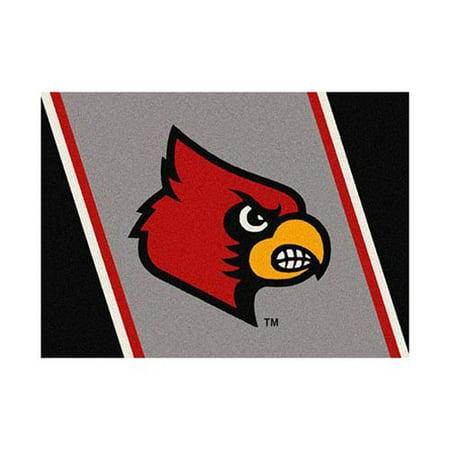 Louisville Football Rug - Louisville 3'10