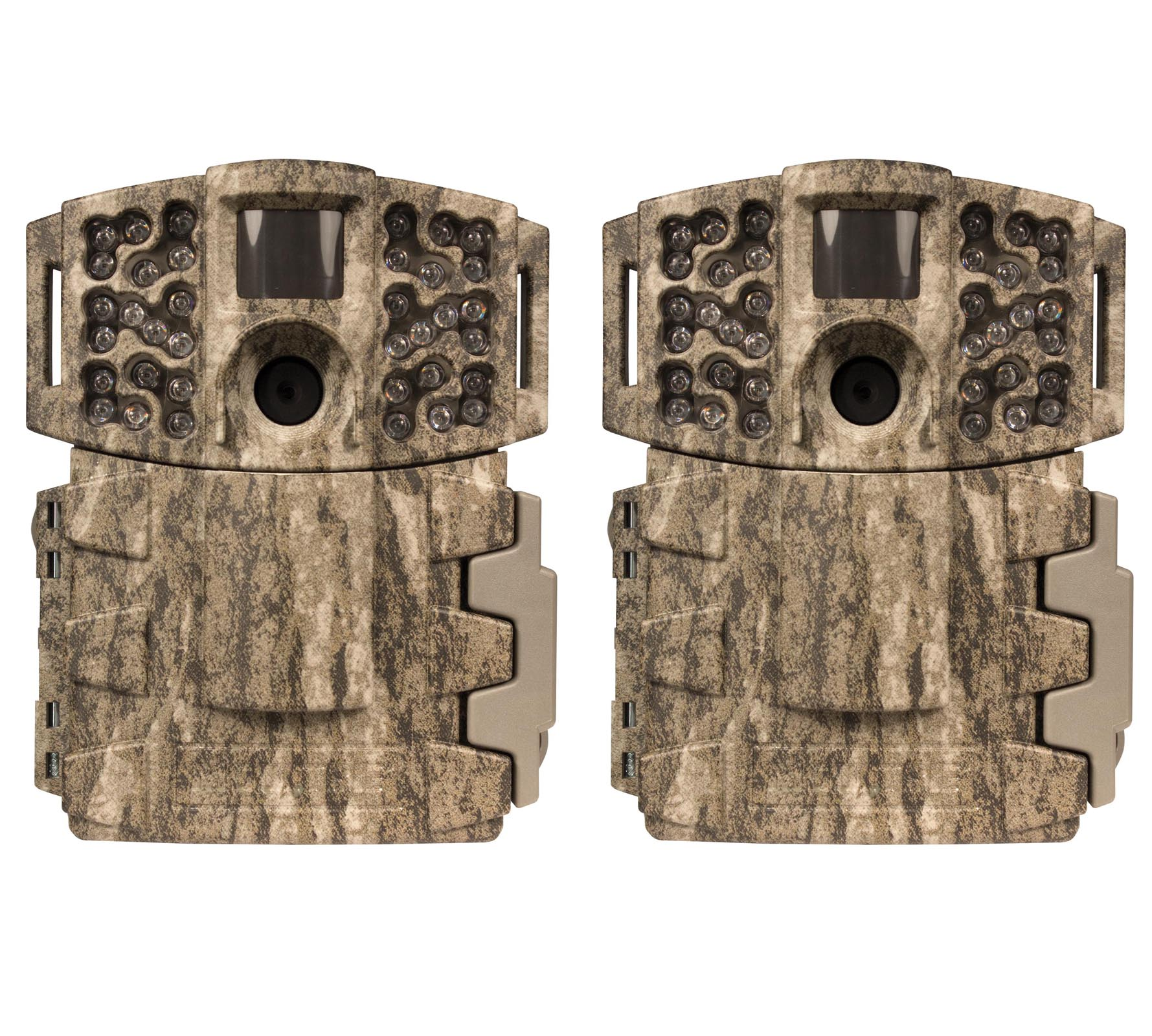(2) Moultrie No Glow Invisible 14MP Mini 888i Infrared Game Cameras | M-888i by Moultrie