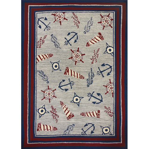 Nautical Elements Area Rug