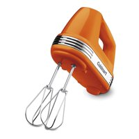 Cuisinart Power Advantage 5-Speed Hand Mixer, Orange (HM-50OR) Certified Refurbished