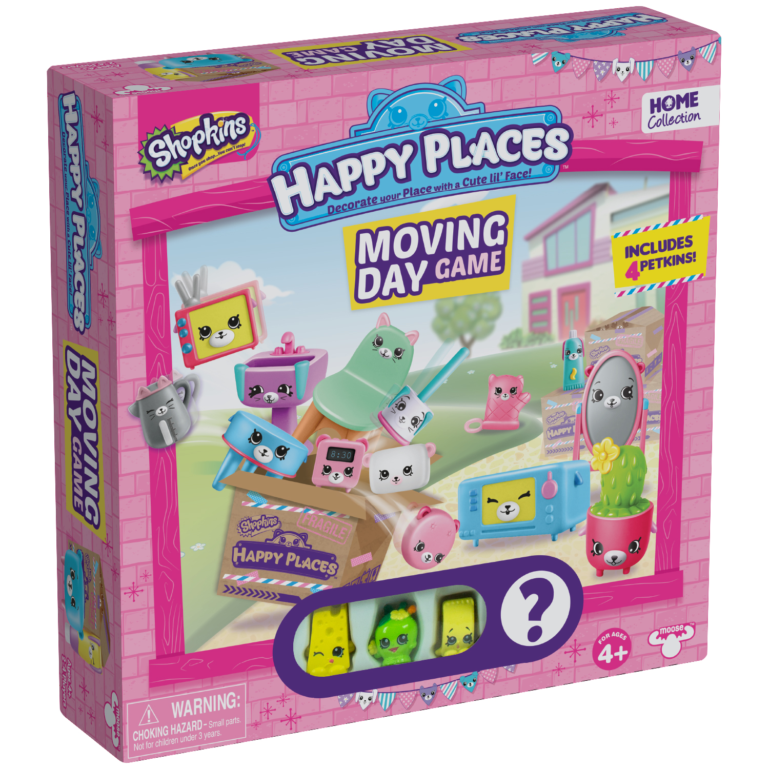Shopkins Happy Places Moving Day