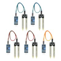 5pcs Soil Humidity Hygrometer Moisture Detection Sensor Module Automatic Watering System for