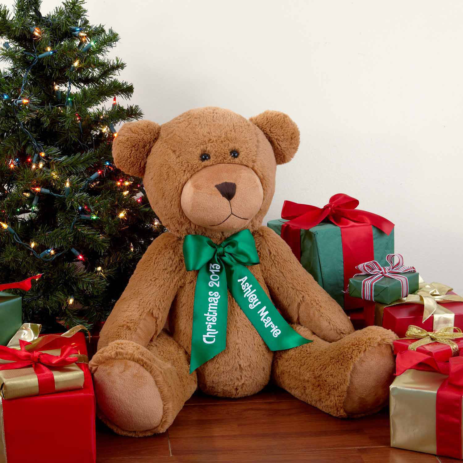 """Click here to buy Personalized 27"""" Giant Teddy Bear by Generic."""