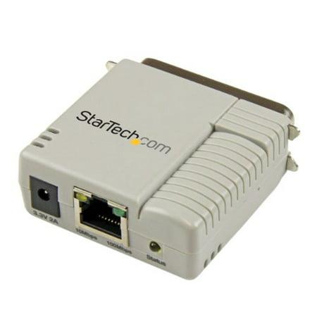 StarTech 1-Port 10/100Mbps Ethernet Parallel Network Print Server