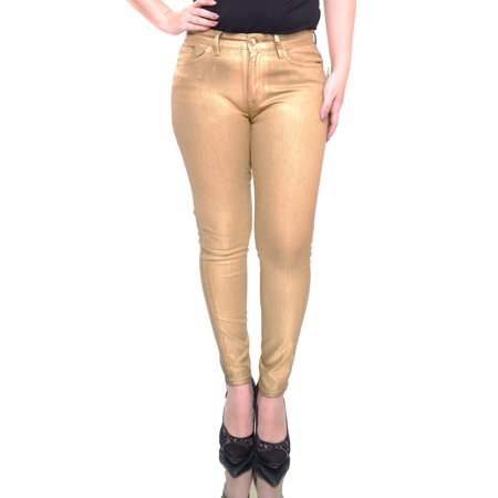 LAUREN Ralph Lauren Women's Golden/Black Jeans Size 6